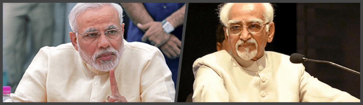 There Should Be No Place in India for Modi's Uncivil Words Against Hamid Ansari